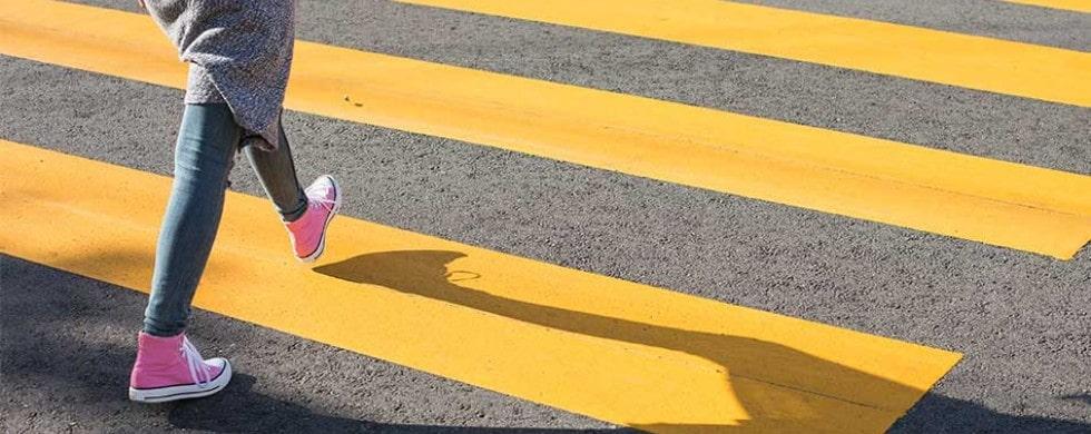 Штраф за неправильный переход дороги